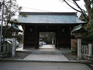 大野湊神社 随神門