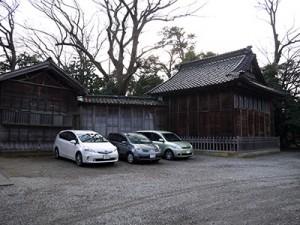 大野湊神社 能舞台