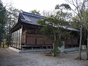 大野湊神社 旧拝殿