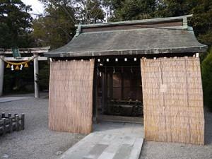 大野湊神社 手水舎