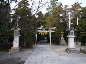 大野湊神社 鳥居