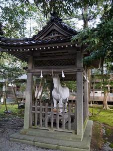 大野湊神社 神馬舎