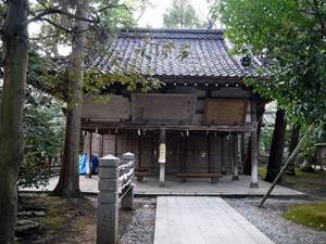 大野湊神社 絵馬堂