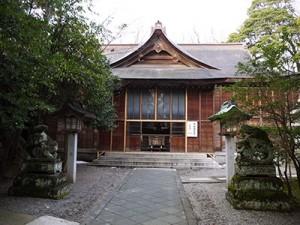 大野湊神社 拝殿