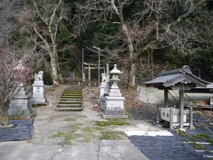 久米田神社 手水舎