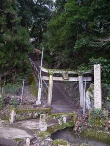 久米田神社 石橋