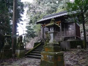 久米田神社 拝殿