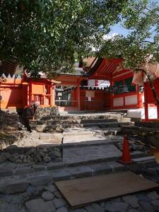 後殿御門・風宮神社・椿本神社
