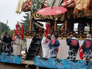 津島天王祭朝祭