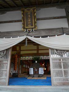 伊夜比咩神社例大祭・向田の火祭り