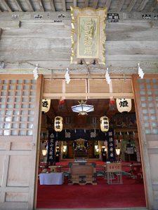 雄山神社中宮祈願殿