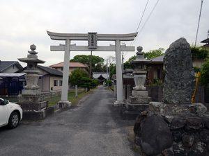 波賀部神社
