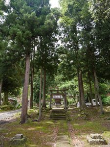 越知神社里宮