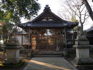 守郷白山神社