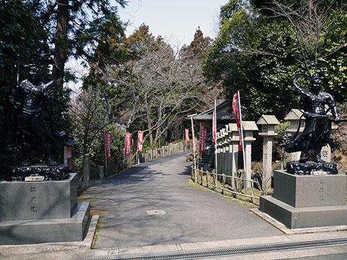 岩間寺 参道