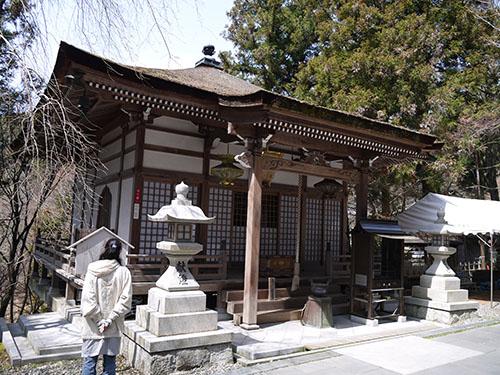 岩間寺 大師堂