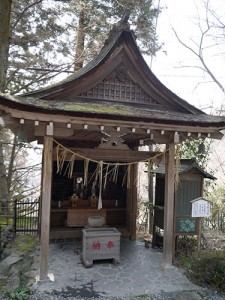 岩間寺 弁天堂