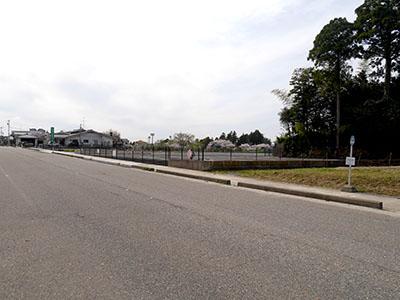 七尾城登山口駐車場
